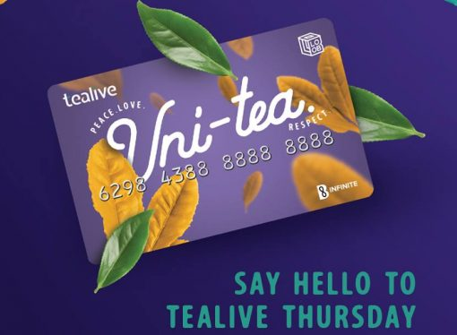 TEALIVE THURSDAY PROMOTION