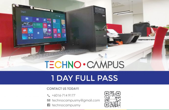 Techno Campus 1 Day Pass